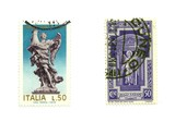 old italian post stamps