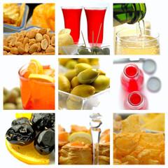 Collage aperitif