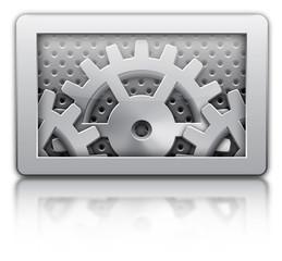 setting gears icon