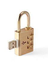 USB Data Security Locked