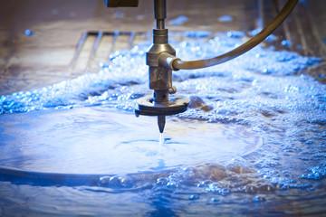 Waterjet Cutting Machine Detail