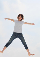 Princess MAIKO Benicio flies over the sky