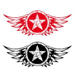 Flügel Logo Star