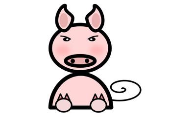 豚のイラスト