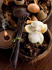 aromatherapy spa concept