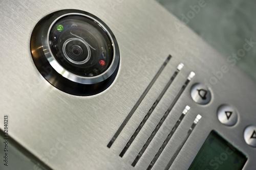 vidéosurveillance interphone à domicile - 32840213