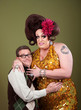 Nerd Hugs a Drag Queen