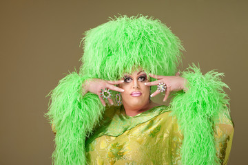 Flamboyant Drag Queen