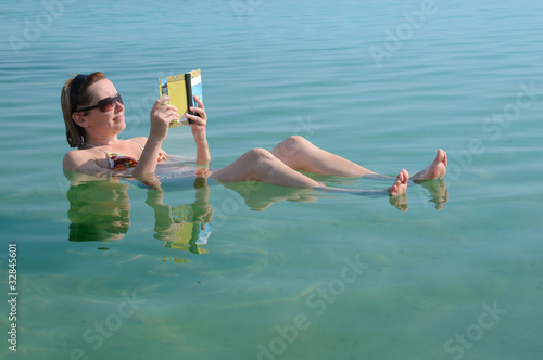 In the Waters of Dead Sea