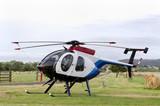 malý vrtulník ve výběhu s senná otýpko