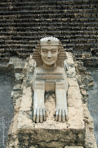 Guardian Sphinx Sculpture