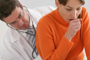 problèmes de toux- examen