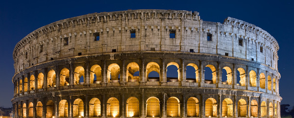 Colosseo notturno, Roma