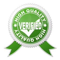 Sello HIGH QUALITY VERIFIED