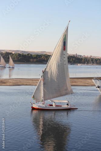 Felouque sur le Nil - Égypte
