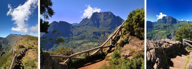 Les cirques de La Réunion, patrimoine Unesco.
