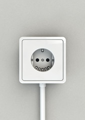 electrical socket face
