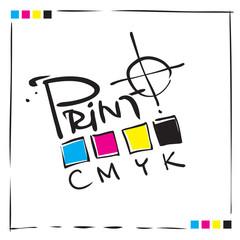 Logo CMYK Print concept design