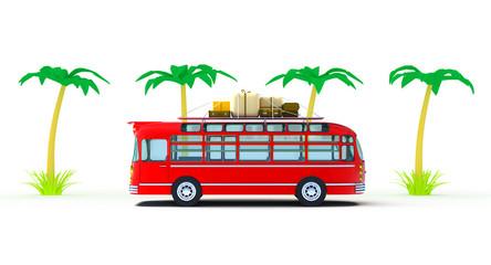 red bus adventure