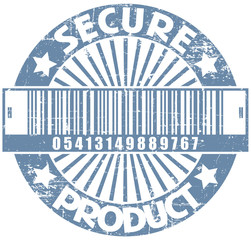 Secure product stamp