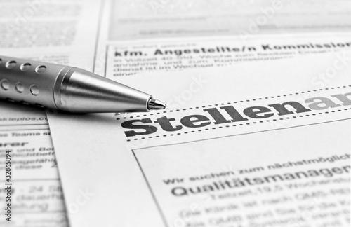 Jobsuche / Zeitung
