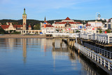 Morning in the holiday resort of Sopot, Poland. - Fine Art prints