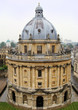 Aerial view of Radcliffe Camera, Oxford, England