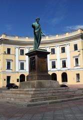 statue of Duke Richelieu, founder of Odessa