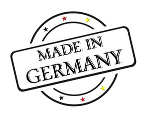 Stamp, Made in Germany