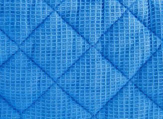 texture of quilted fabric