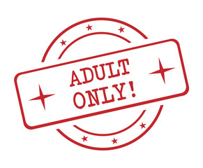 Adult only! , Stamp