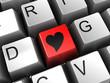 heart shape button
