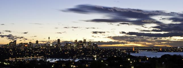 Sydney Sun set