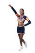 Black Girl Cheerleader