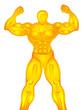 gold muscleman
