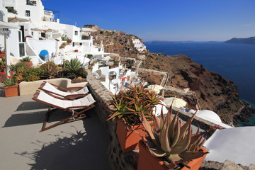 Santorini island Greece