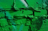 Graffiti Wall Green