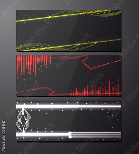 Bright background. Dark design template for business cards