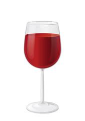 kl. Rotweinglas