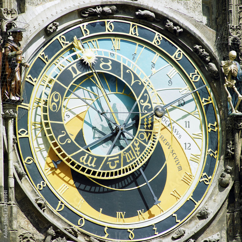 Horloge, Old Town Hall, Prague, Czech Republic