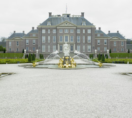 palace and gardens, Paleis Het Loo Castle, Netherlands