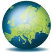 Weltkugel Weltkarte Landkarte Europa Karte 1