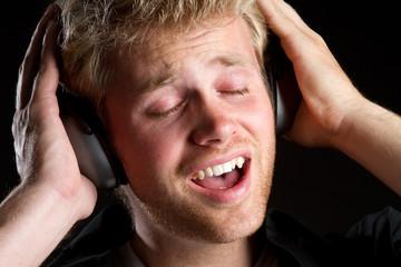 Headphones Music Man