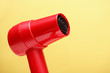 Red Hairdryer Closeup