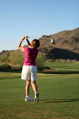 Woman Golfer