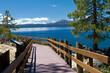 Sand Harbor walkway, Lake Tahoe