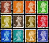 English Postage Stamps Queen Elizabeth 2nd, circa 1993 to 2007