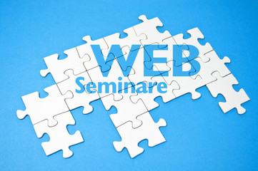 Puzzle mit Web-Seminare