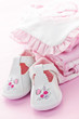 Pink baby clothes for infant girl