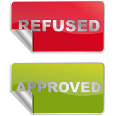 refused/approved